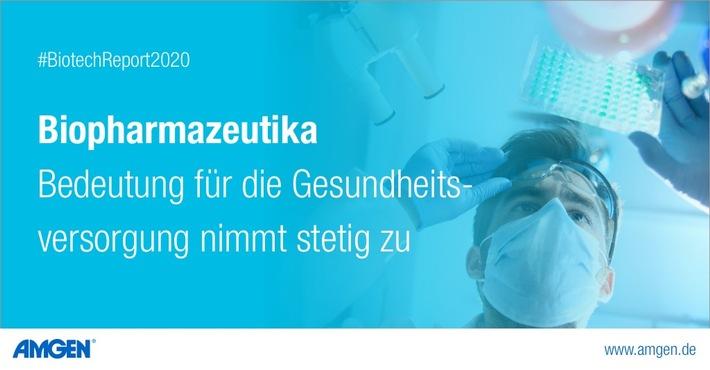"""AMGEN: Bedeutung von Biopharmazeutika für die Gesundheitsversorgung nimmt stetig zu. Weiterer Text über ots und www.presseportal.de/nr/30303 / Die Verwendung dieses Bildes ist für redaktionelle Zwecke honorarfrei. Veröffentlichung bitte unter Quellenangabe: """"obs/Amgen GmbH"""""""