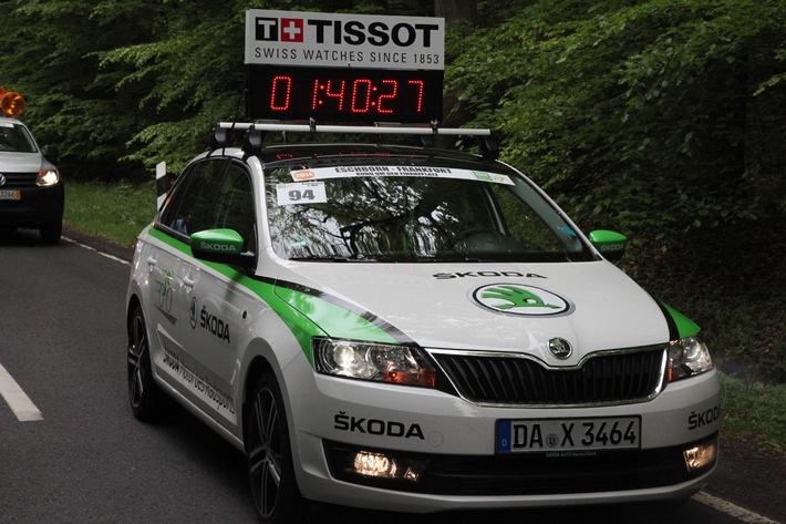SKODA macht als Fahrzeugpartner den Garmin Velothon Berlin 2014 mobil