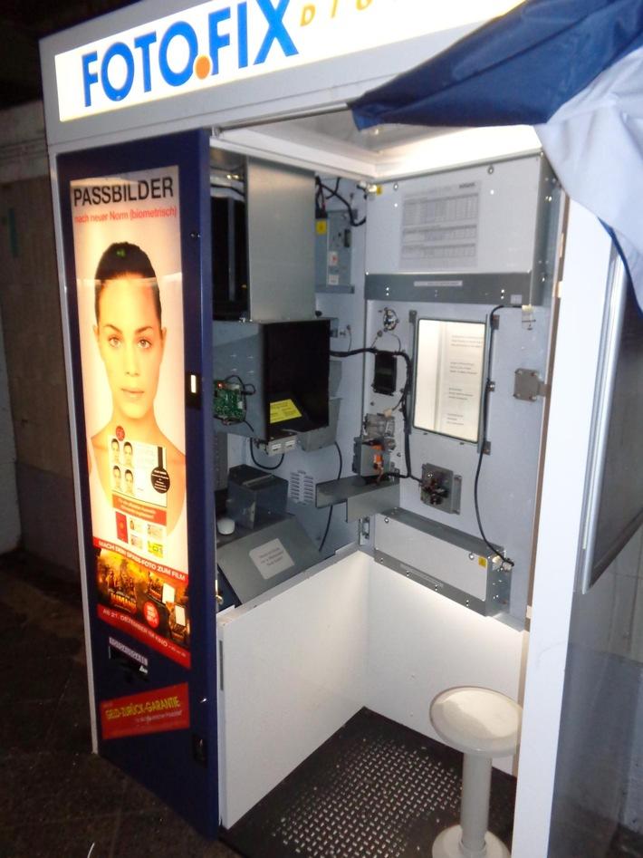 Sofortfoto-Automat