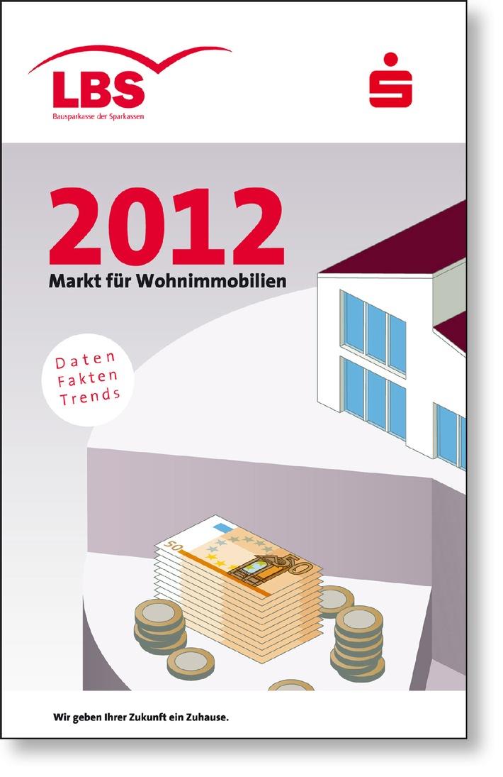 """Die 13. Ausgabe des LBS-Heftes """"Markt fuer Wohnimmobilien"""" ist auf dem Markt. Neben Kurzanalysen zu Teilmaerkten und Einflussfaktoren beinhaltet die Broschuere erneut einen umfangreichen Immobilien-Preisspiegel - in diesem Jahr mit rund 680 Staedten. Die Verwendung dieses Bildes ist für redaktionelle Zwecke honorarfrei. Veröffentlichung bitte unter Quellenangabe: """"obs/Landesbausparkassen"""""""