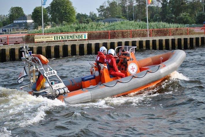 Bild des entwendeten Bootes; Bildquelle: Die Seenotretter- DGzRS