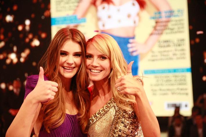 "This girl is on fire: Stefanie Giesinger ist ""Germany's next Topmodel"" 2014"
