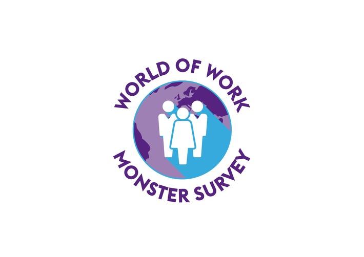 """Logo """"World of Work"""" Studie von Monster. Weiterer Text über ots und www.presseportal.de/nr/31973 / Die Verwendung dieses Bildes ist für redaktionelle Zwecke honorarfrei. Veröffentlichung bitte unter Quellenangabe: """"obs/Monster Worldwide Deutschland GmbH"""""""