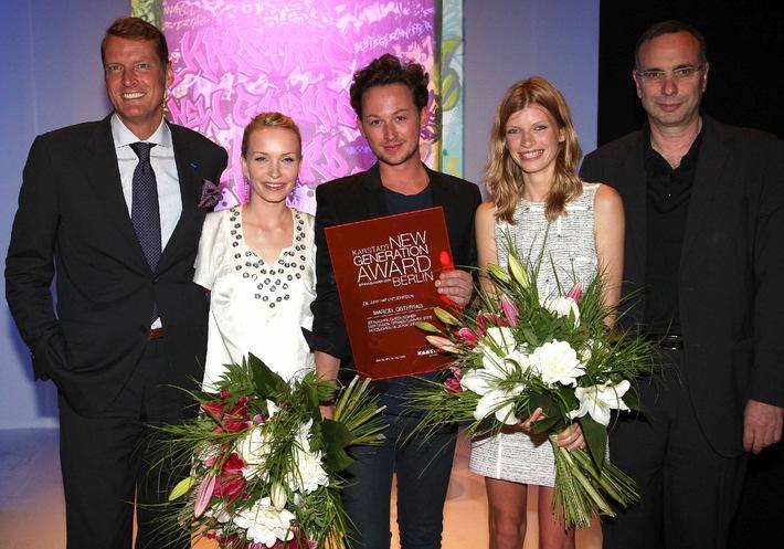 Marcel Ostertag gewinnt den Karstadt New Generation Award