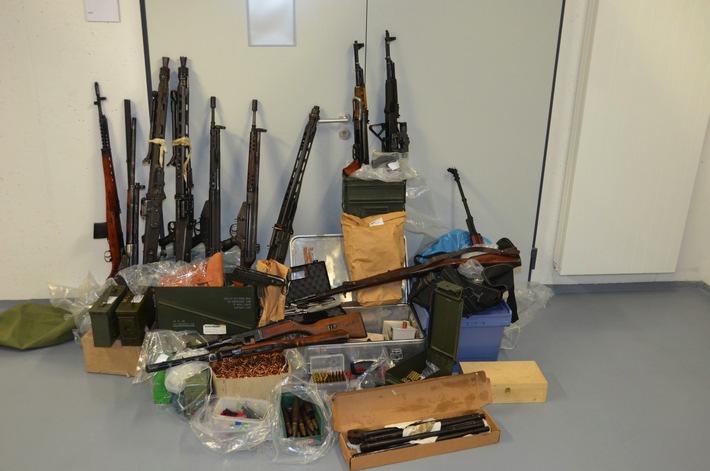 BKA: Das Bundeskriminalamt und die Staatsanwaltschaft Essen teilen mit: Festnahme wegen illegalen Waffenbesitzes