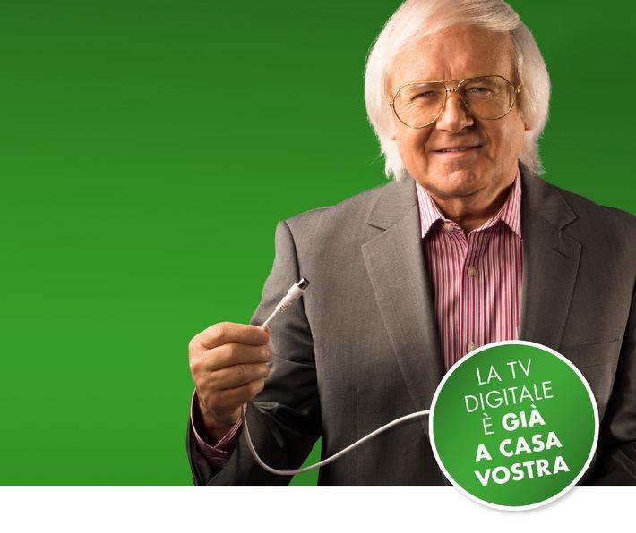 Passaggio al TV digitale: Campagna di informazione di Pro Senectute Svizzera e Swisscable