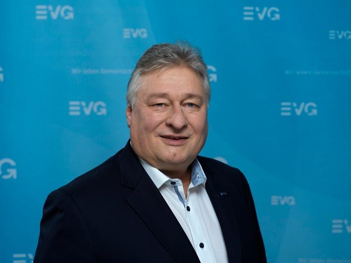 EVG-Vize-Vorsitzender: Martin Burkert / Weiterer Text über ots und www.presseportal.de/nr/150063 / Die Verwendung dieses Bildes ist für redaktionelle Zwecke honorarfrei. Veröffentlichung bitte unter Quellenangabe:
