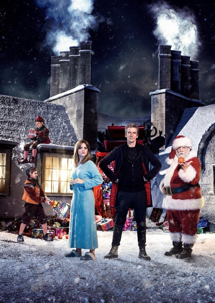 """Globale Premiere: Weihnachtsspecial der Kult-Serie """"Doctor Who"""" unmittelbar nach der Weltpremiere im Original mit deutschen Untertitel am 25. Dezember um 21.30 Uhr auf Fox"""