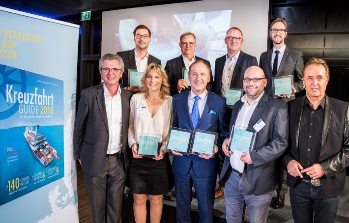 Die besten Schiffe des Jahres: Kreuzfahrt Guide Awards 2017 verliehen - KREUZFAHRT GUIDE 2018 in neuem Layout ab sofort im Handel