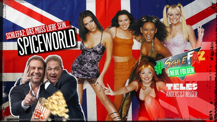 Olli Kalkofe (r.) und Peter Rütten holen die Fab Five mit ihrem sinnfreien Selbstvermarktungs-Video ?Spiceworld - Der Film? vorzeitig aus dem Ruhestand zurück!  © Fairmedia
