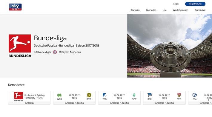 Sky startet mit Sky Sport eigenes Angebot in der Schweiz