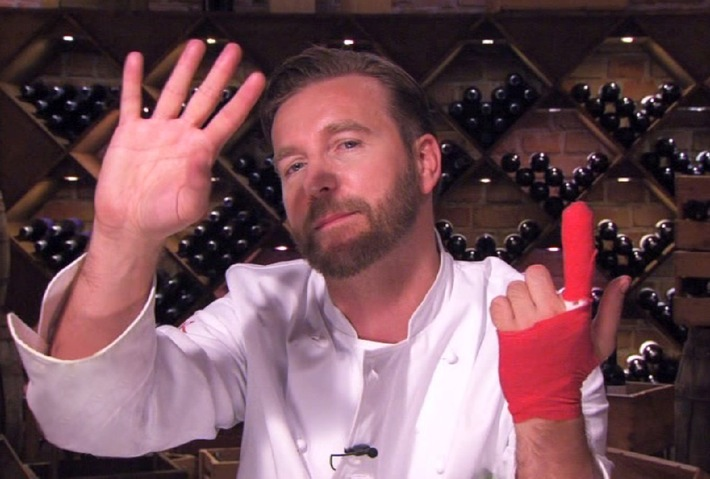 "Finger-Food! Niels Ruf in der Notaufnahme, das Ende in ""Hell's Kitchen""? 5. Folge am 4. Juni 2014 in SAT.1"