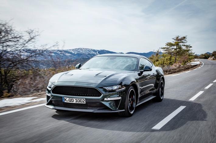 Ford Mustang Bullitt Tm Sonderedition In Genf Enthullt Verkauf