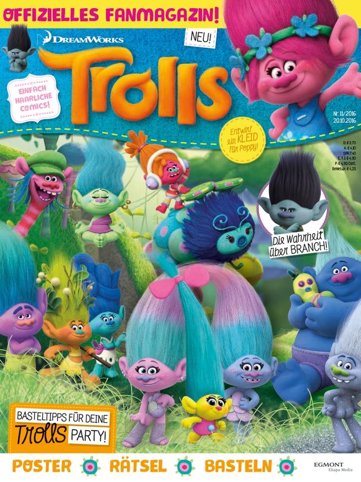 Es wird haarig: Die Trolls erhalten ihr eigenes Magazin