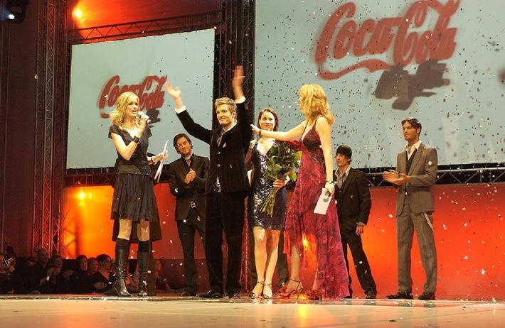 Coke light Man Wahl 2004 - Der neue Coke light Man heisst Dominik Gasser