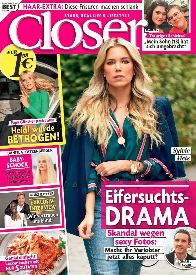 """Cover Closer 41/2017 / Weiterer Text über ots und www.presseportal.de/nr/104352 / Die Verwendung dieses Bildes ist für redaktionelle Zwecke honorarfrei. Veröffentlichung bitte unter Quellenangabe: """"obs/Bauer Media Group, Closer/Closer"""""""