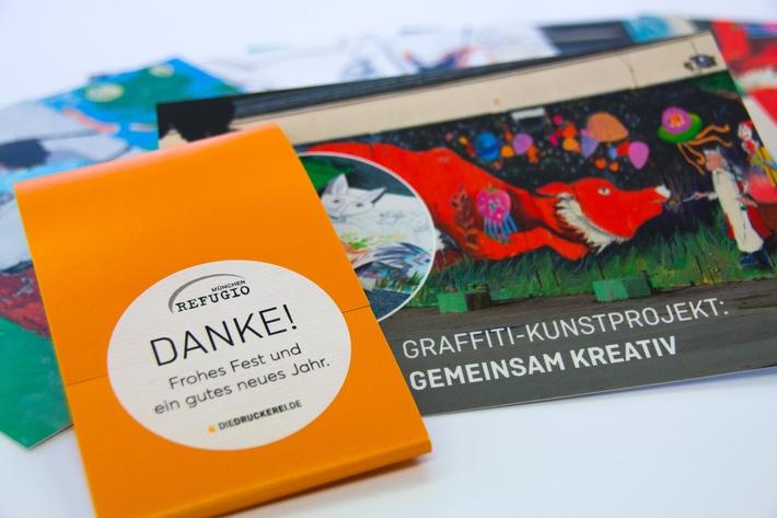 ▷ Mit Kunst gegen Flucht-Traumata / diedruckerei.de unterstützt ...