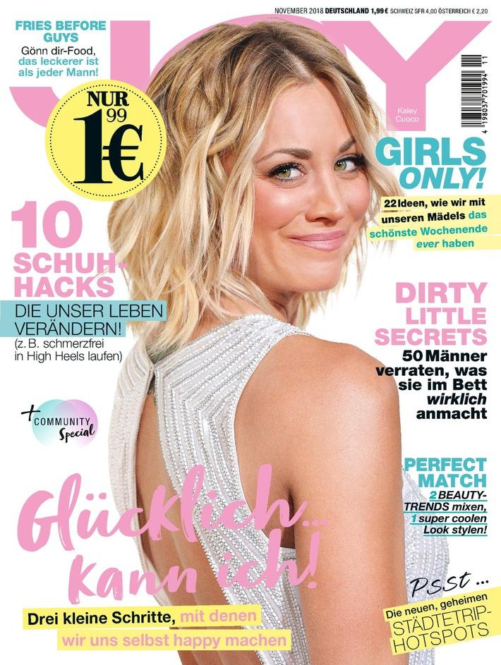 """JOY Cover. Weiterer Text über ots und www.presseportal.de/nr/32925 / Die Verwendung dieses Bildes ist für redaktionelle Zwecke honorarfrei. Veröffentlichung bitte unter Quellenangabe: """"obs/Bauer Media Group, JOY"""""""