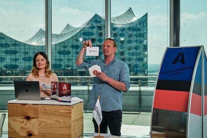 Weltbeste Startups für die zukunftsweisende Stadt mit dem Future Hamburg Award ausgezeichnet (FOTO)