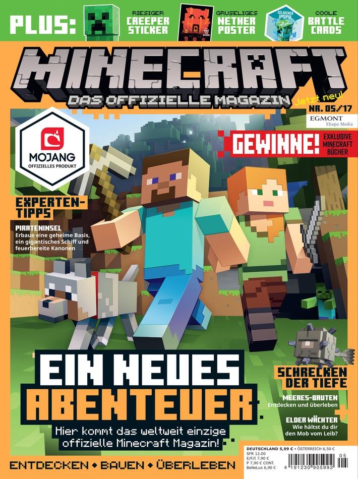 Minecraft Das Offizielle Magazin Zum Erfolgreichsten Spiel Der - Minecraft coole spiele