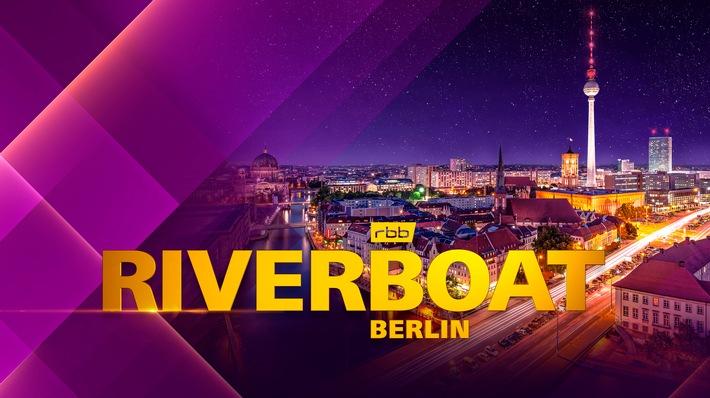 RIVERBOAT BERLIN mit Kim Fisher und Sebastian Fitzek - Die Gäste am 15. Oktober