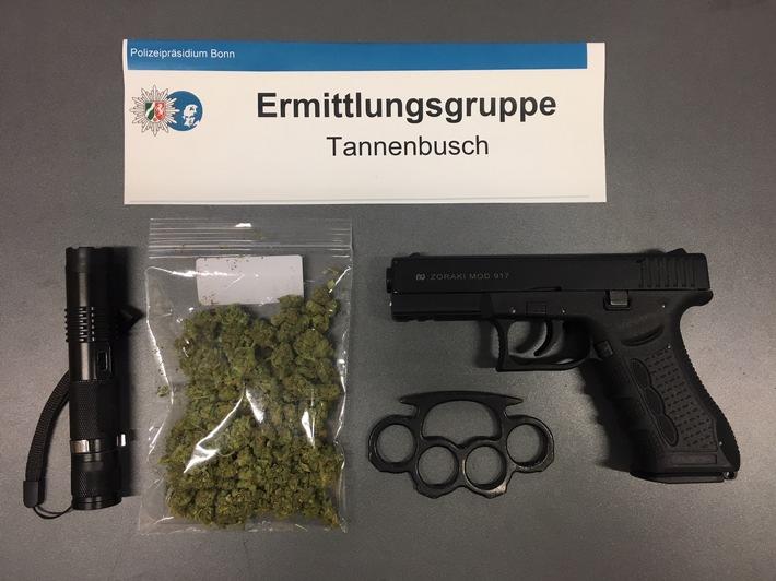 Sicherstellungen der EG Tannenbusch.