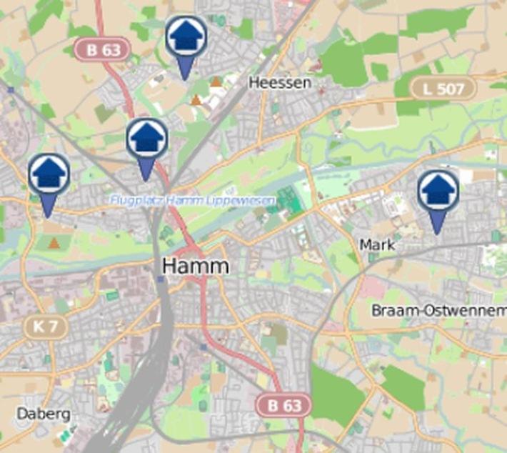 Wohnungseinbruchs-Radar für die Woche vom 10. bis zum 16. September