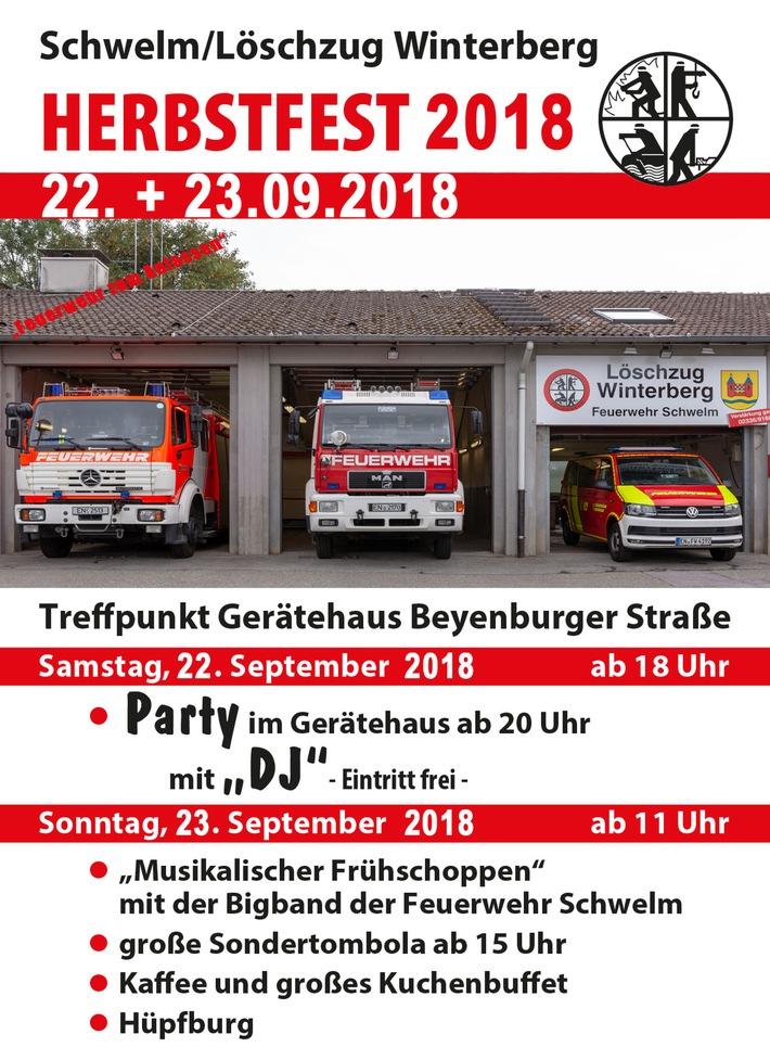 Herbstfest Löschzug Winterberg am 22.9 - 23.09.2018