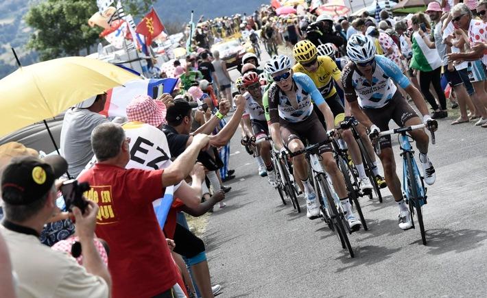 Die Tour de France weiterhin live bei der SRG SSR