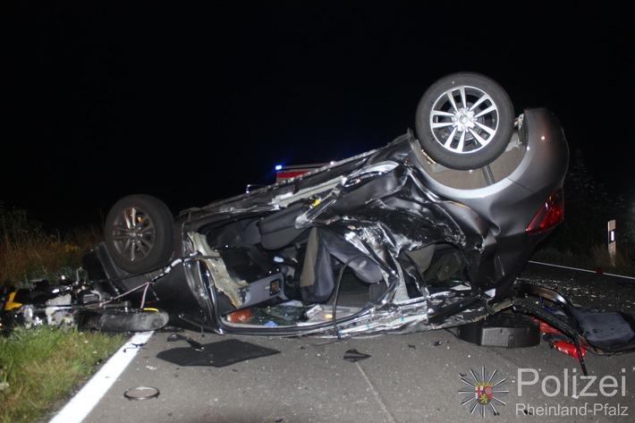 POL-PPTR: Zwei Personen sterben bei Verkehrsunfall bei Sefferweich