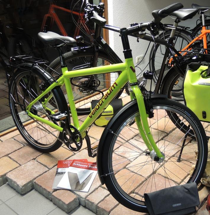 Gestohlenes Fahrrad der Marke VELOTRAUM