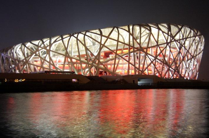 Olympic Stadium in Beijing