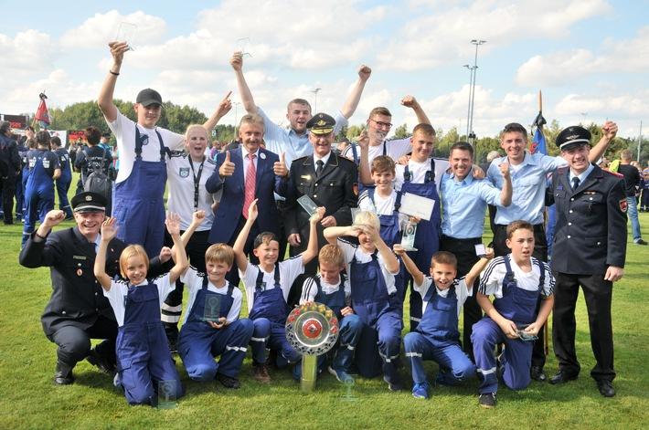 Doppelsieg aus Niedersachsen bei den Deutschen Meisterschaften der Jugendfeuerwehren