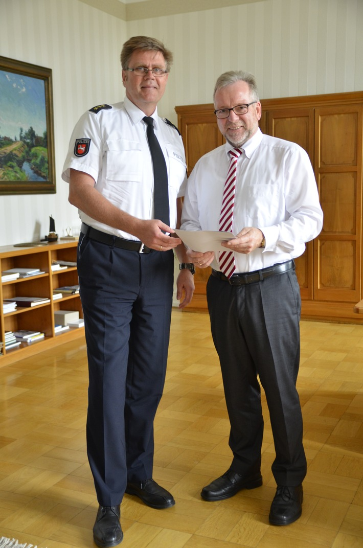 POL-OLD: +++ Personalentscheidung getroffen +++ Polizeidirektor Andreas Sagehorn wird neuer Leiter der Polizeiinspektion Cloppenburg/Vechta +++