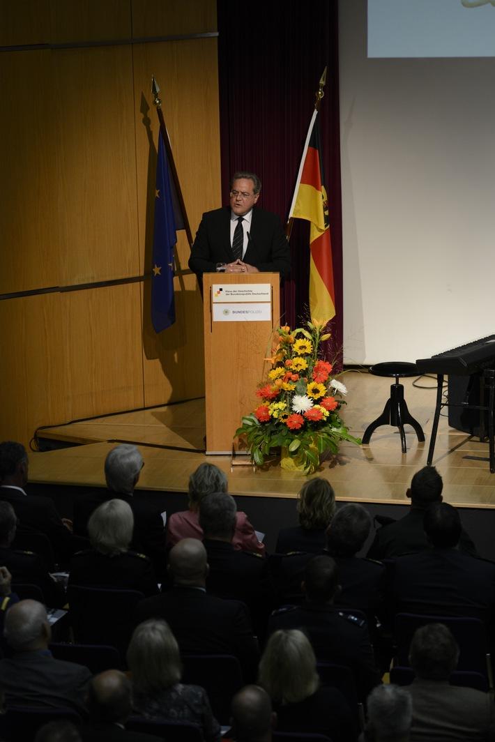 Der Präsident des Bundespolizeipräsidiums, Dr. Dieter Romann