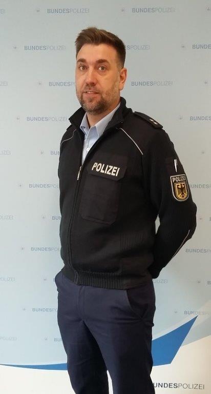 Polizeioberkommissar Kevin Braese