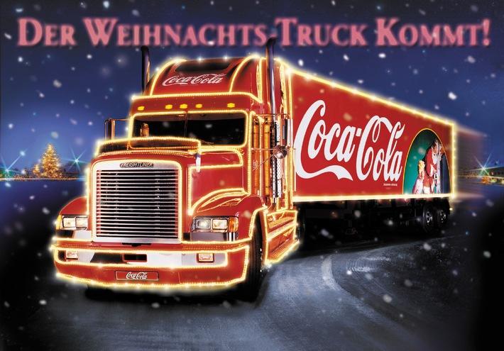 """Die Coca-Cola Weihnachtstrucks wieder """"on Tour"""" / Die Weltmarke geht mit attraktivem Programm in die Adventszeit"""