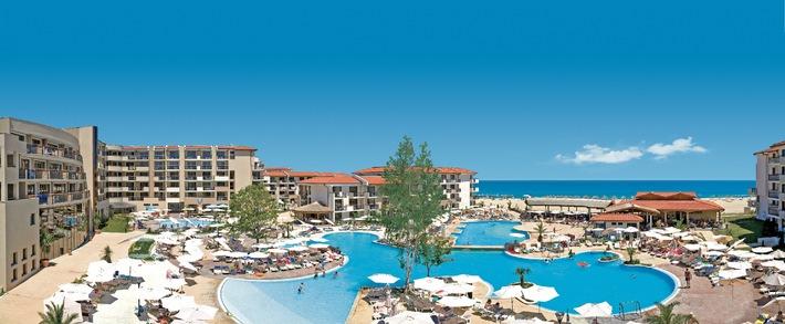 Bulgarien startet mit Preisoffensive in den Sommer 2015 / Vier Personen, vier Sterne, Familienurlaub unter 1.600 Euro in der Hauptsaison