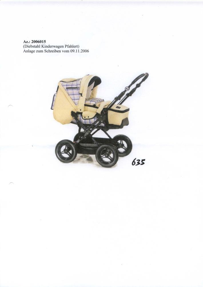 POL-HI: Kinderwagengestell gestohlen