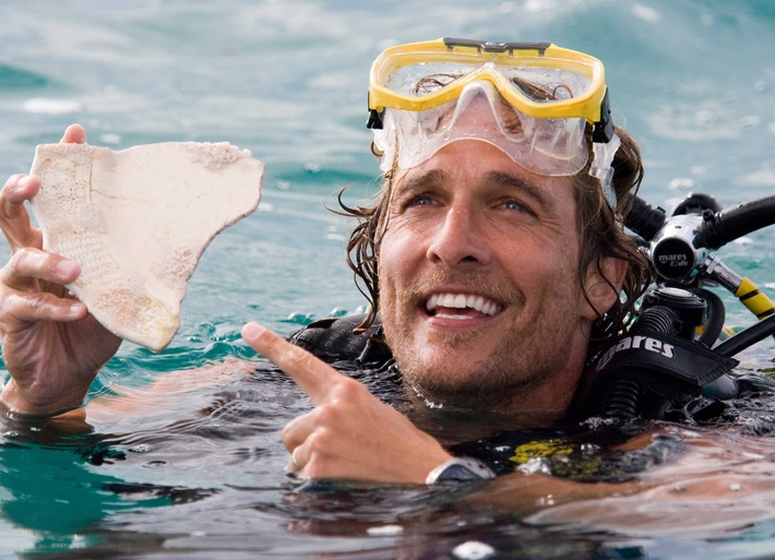 """Abenteuerliche Liaison: Matthew McConaughey und Kate Hudson in """"Ein Schatz zum Verlieben"""" am Donnerstag in SAT.1"""