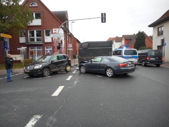 POL-ROW: Verkehrsbehinderungen durch brennende Kfz auf der Autobahn