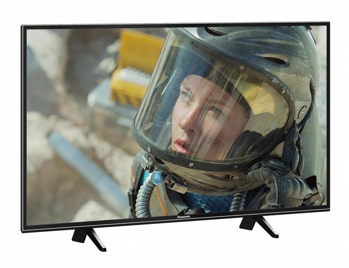 in 4K LED-TV mit HDR und flexiblem StandfußPanasonic FXW654: Der ideale Einstieg ins 4K UHD-Zeitalter mit HDR-Multi-Support, Quattro-Tuner, TV>IP Client und universellen Aufstellmöglichkeiten