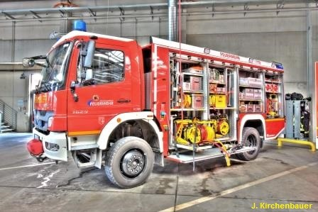 FW-MG: Mehrere Unfallstellen auf der BAB 46 FR Heinsberg nach Starkregen