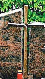 Kreuz Friedhof Kollmarsreute