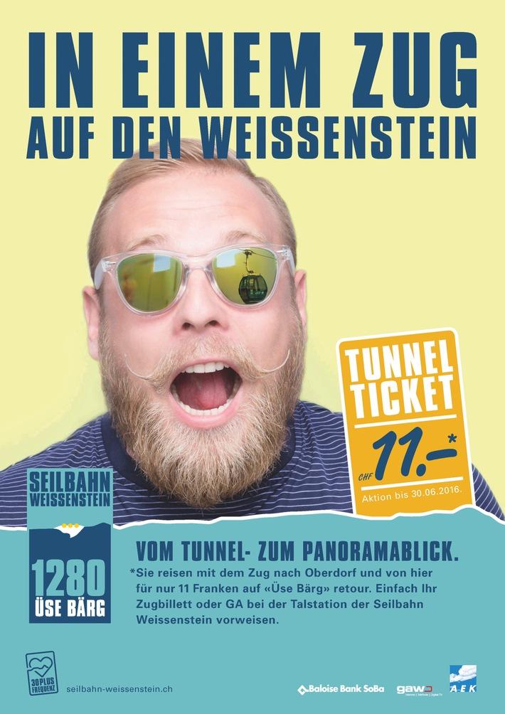 Das Schicksal des Weissensteintunnels entscheidet sich in diesen Wochen / Die Seilbahn Weissenstein fordert mehr Tunnelfahrten