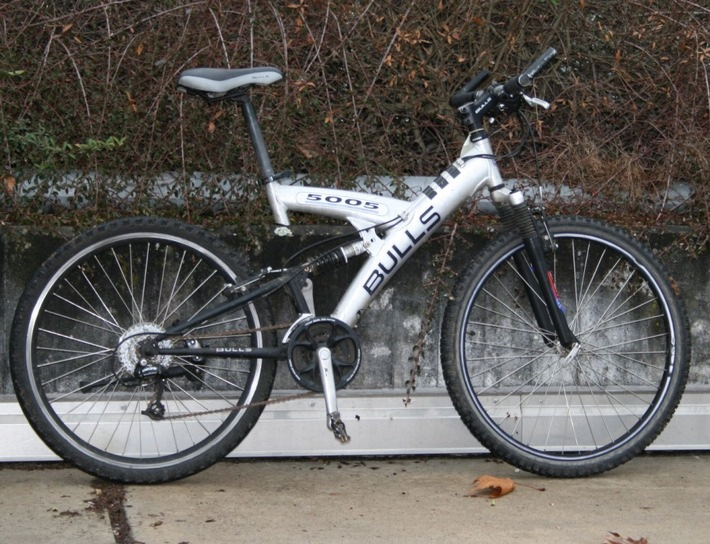 Fahrrad der Täter?
