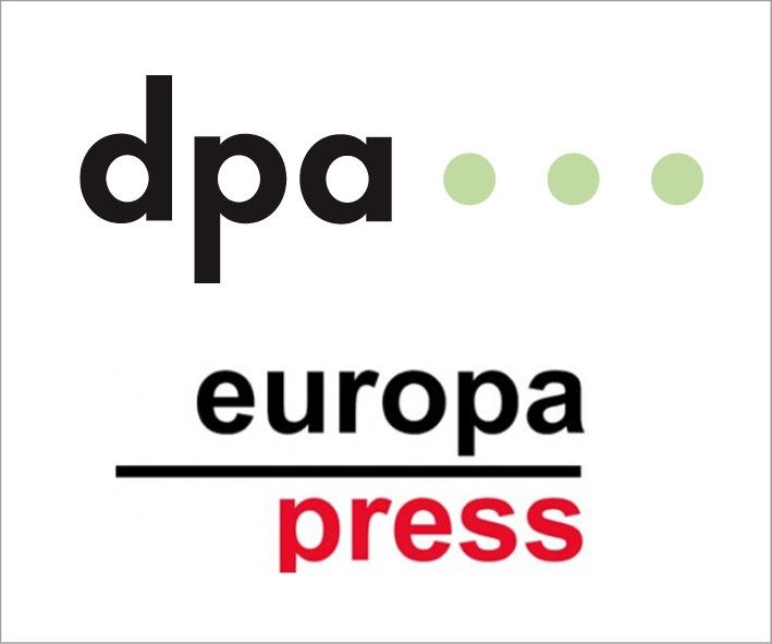 """Europa Press und dpa bauen Zusammenarbeit im spanischsprachigen Markt aus. Weiterer Text über ots und www.presseportal.de/nr/8218 / Die Verwendung dieses Bildes ist für redaktionelle Zwecke honorarfrei. Veröffentlichung bitte unter Quellenangabe: """"obs/dpa Deutsche Presse-Agentur GmbH"""""""