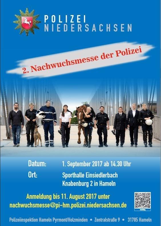 Pol Hm Ankündigung Einer Nachwuchsmesse Am 01 September