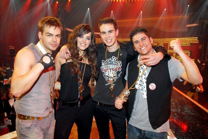 POPSTARS-Band Room2012 komplett!