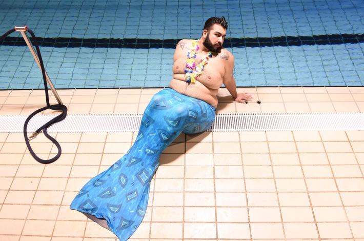 """Faisal Kawusi als Meerjungfrau: """"Zieh' dich warm an, Arielle!"""" (FOTO)"""